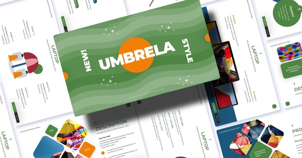 Download Umbrella | Powerpoint Template by Vunira