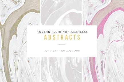 Modern Fluid Non-Seamless Abstract Patterns