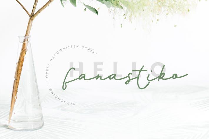 Cover Image For Fanastiko - Signature Font