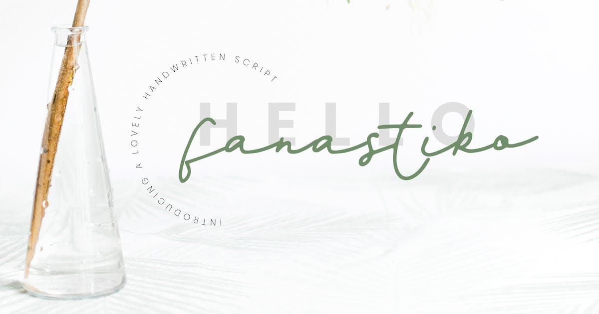 Fanastiko - Signature Font by TMint