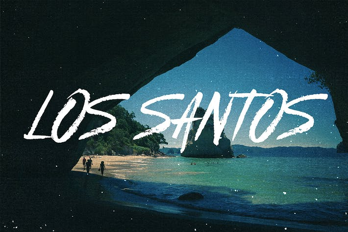Los Santos - Typeface