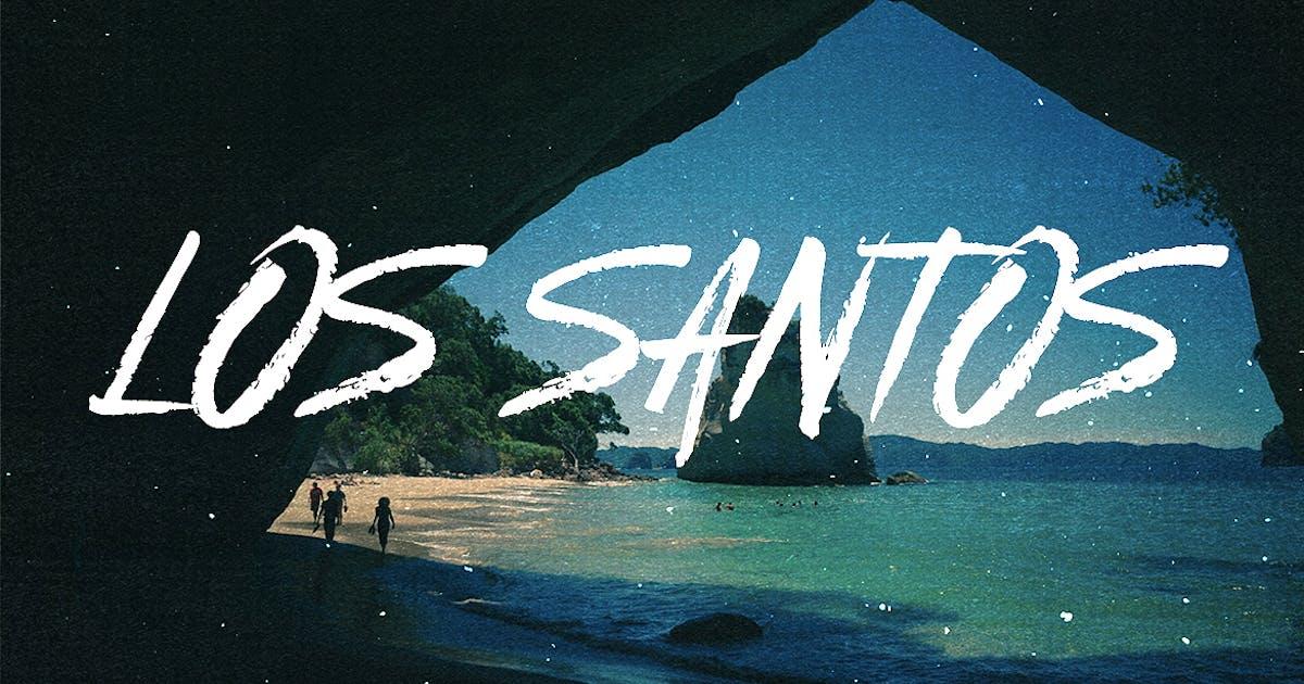 Download Los Santos - Typeface by Layerform