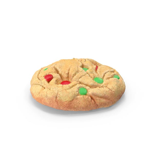 Thumbnail for Christmas M&M Cookies