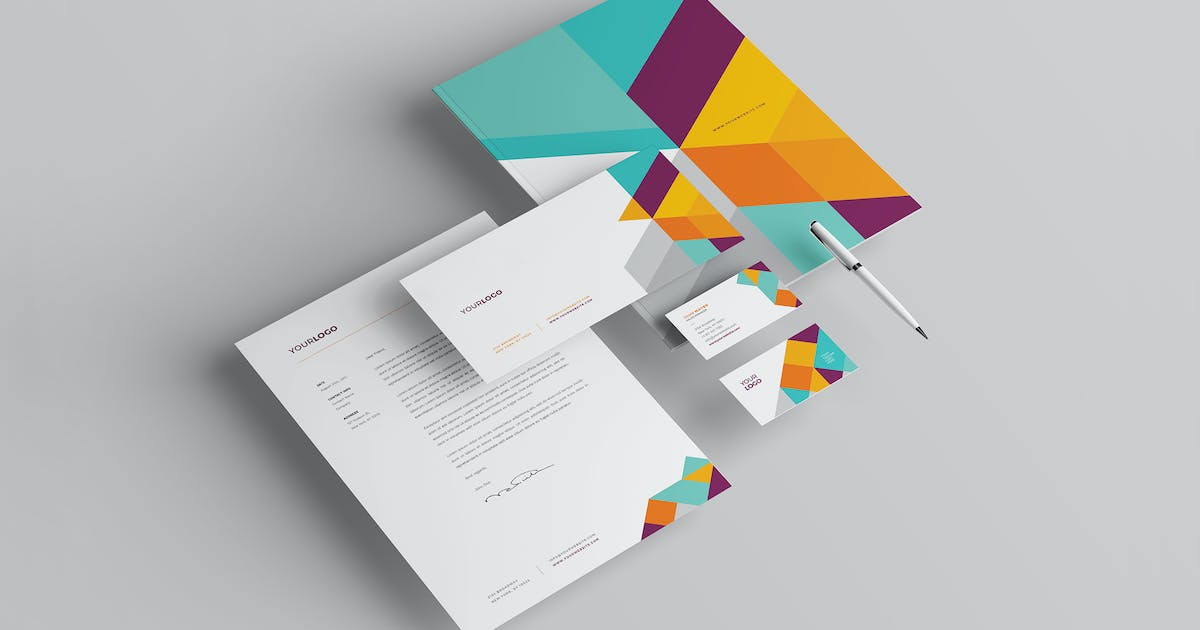 Download Modern Colorful Stationery by Unknow