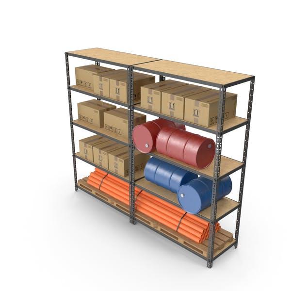 Warehouse Double Rack