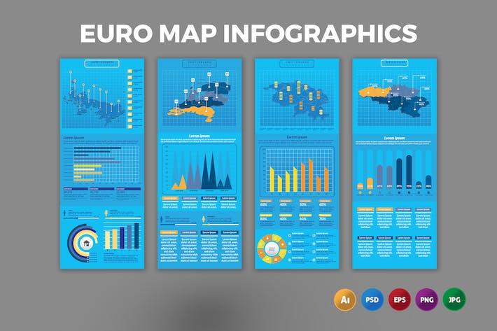 Europe Map – Infographics Design
