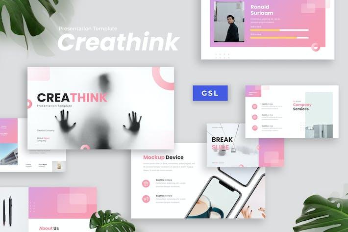 Thumbnail for Creathink - Творческая презентация Googleslide