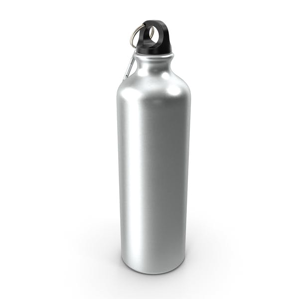 Aluminum Sport Water Bottle with Carabiner