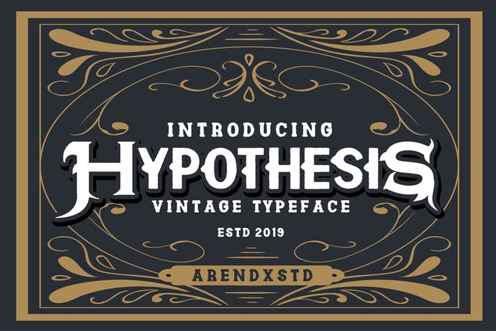 Thumbnail for Hypothesis Typeface