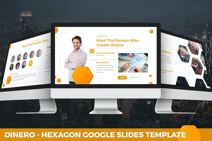Thumbnail for Dinero - Hexagon Google Slides Template