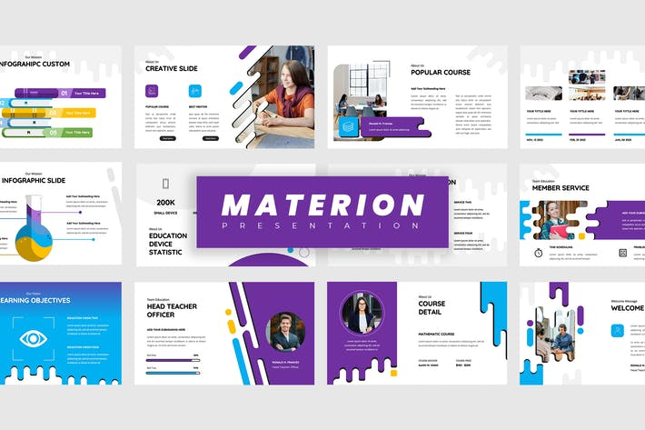 Thumbnail for Materion - Education Powerpoint Presentation