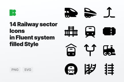 Fluent system filled - Railway sector