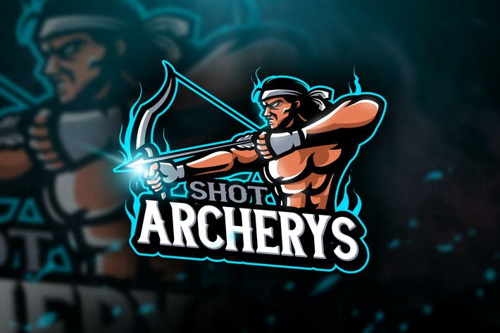 Thumbnail for Archerys- Mascot & Esport Logo
