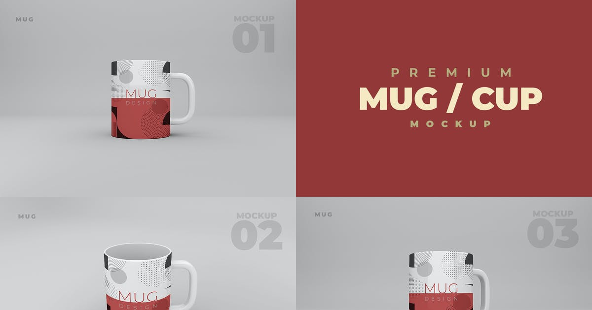 Download Mug / Cup Mockup by ukraine_studio