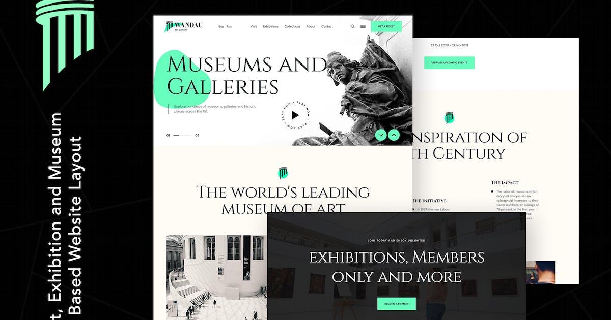Download Wandau | Art & History Museum WordPress Theme by themezinho