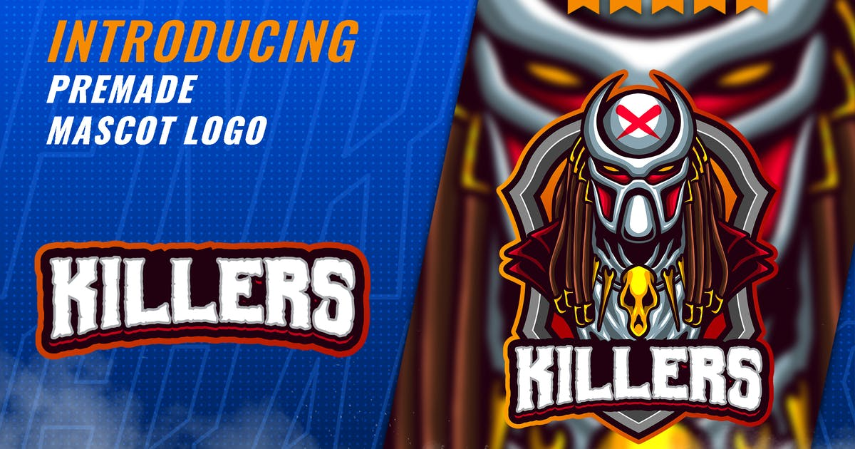 Download Silent Killers - Mascot Esport Logo Template by FNRGraphics