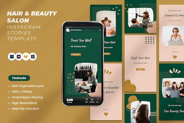 Friseur- und Schönheitssalon Instagram St