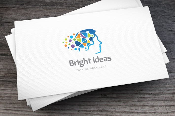 Thumbnail for Bright Ideas Logo Template