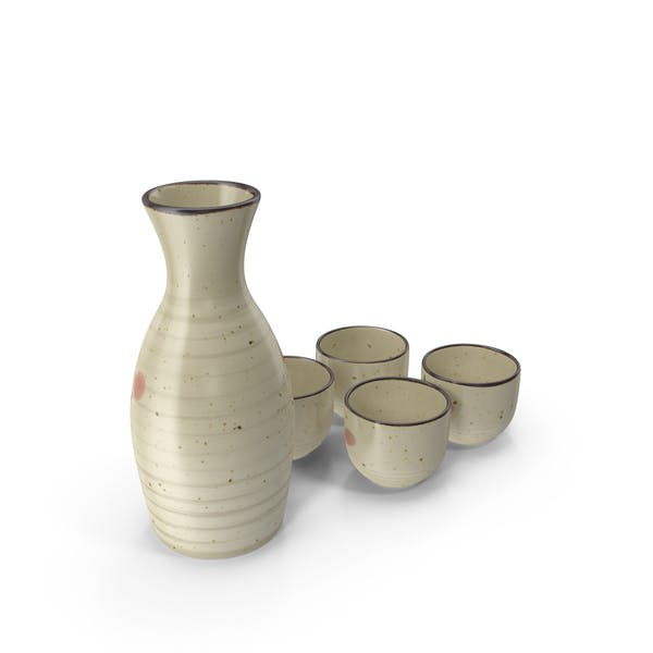 Set de servicio de sake japonés
