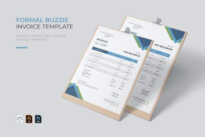 Formal Buzzie | Invoice