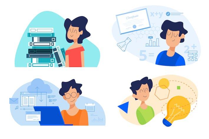 Thumbnail for Kit de conceptos Educación