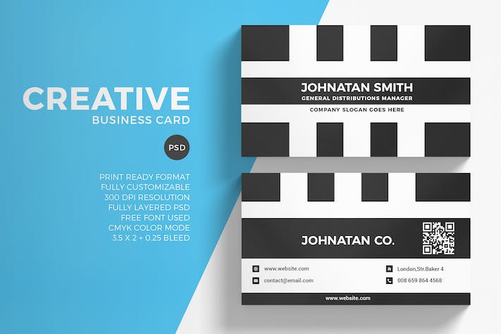 Cover Image For Creative Business Card
