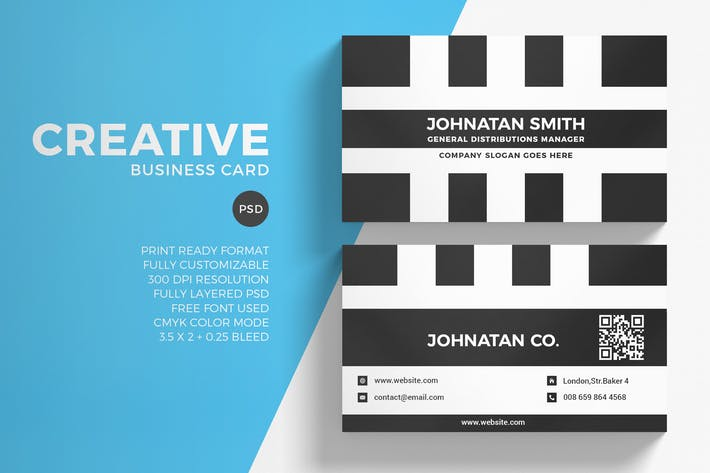 Thumbnail for Creative Business Card