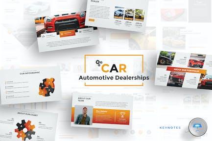 Car Dealerships Keynote Template