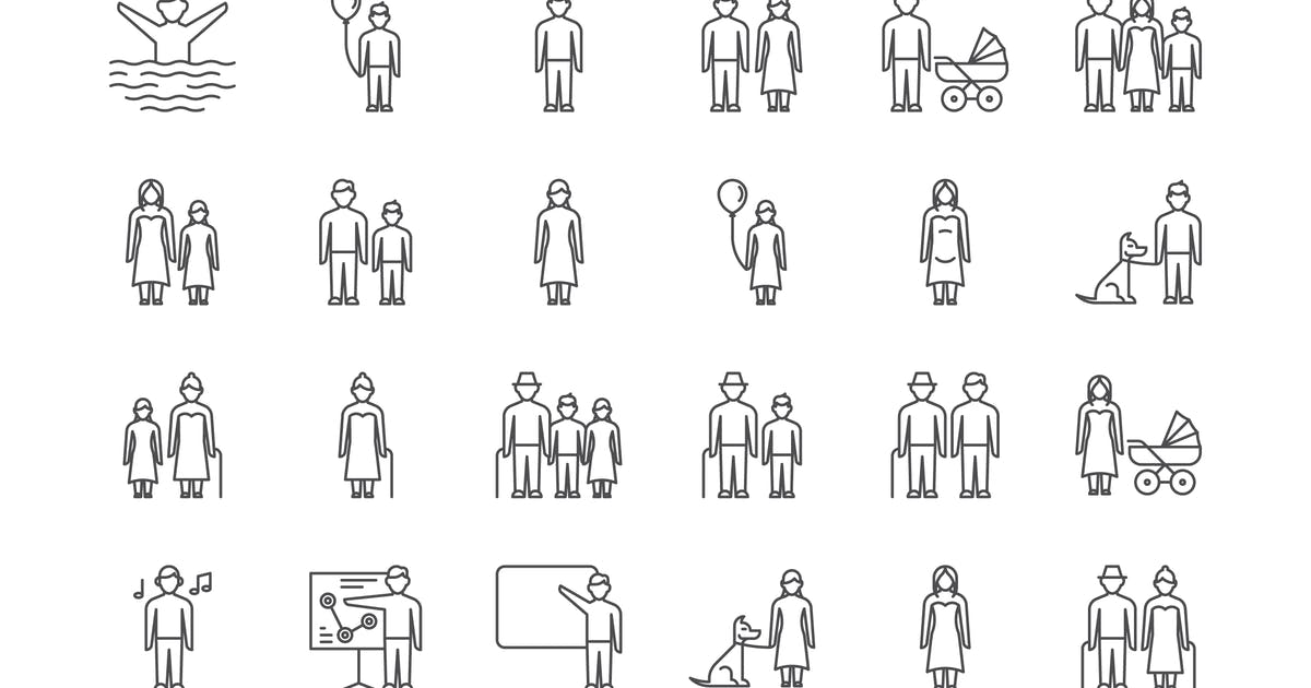 Download 35 People Icons by polshindanil