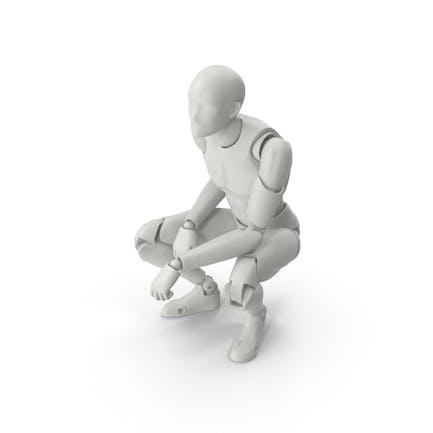 Figura masculina posada