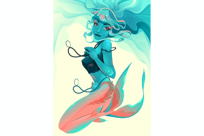 Thumbnail for Portrait of a Mermaid