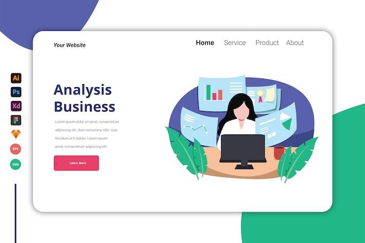 Analysis Business - Landing Page