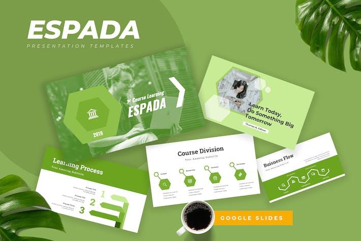Thumbnail for Espada - Education Google Slides Presentation