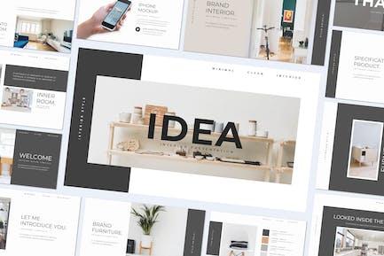 IDEA - Powerpoint Template