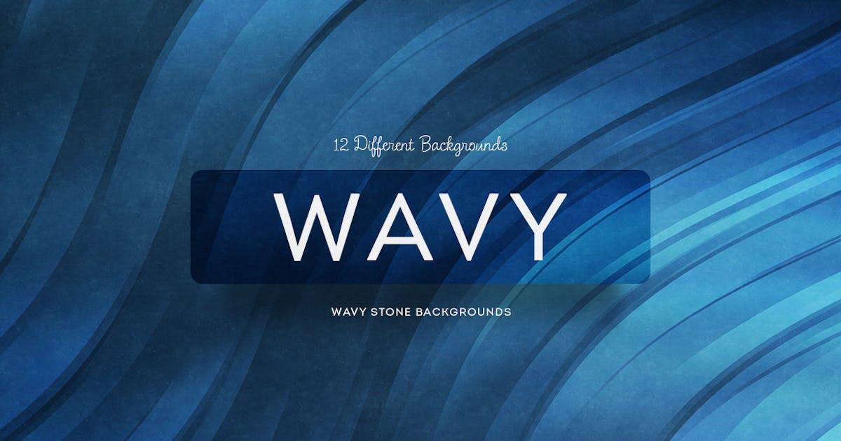 Wavy Stone Backgrounds by mamounalbibi