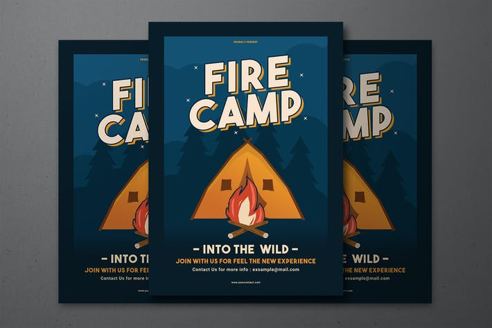 Thumbnail for Fire Camp Flyer