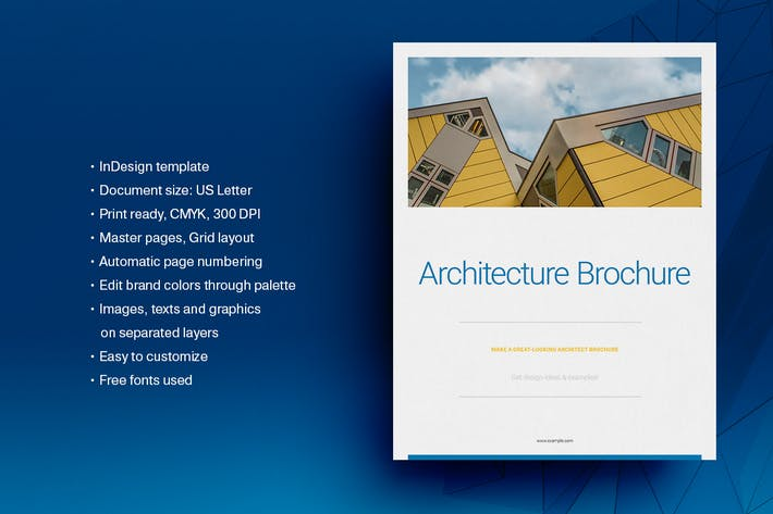 Cover Image For Architecture Brochure