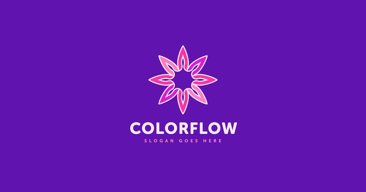Download Color Flow Logo Vector Template by Pixasquare