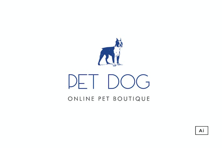 Thumbnail for Pet Boutique Logo Template