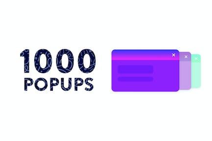 1000 Popups