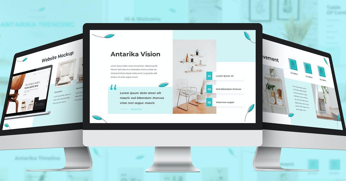 Download Antarika - Furniture Google Slides Template by SlideFactory