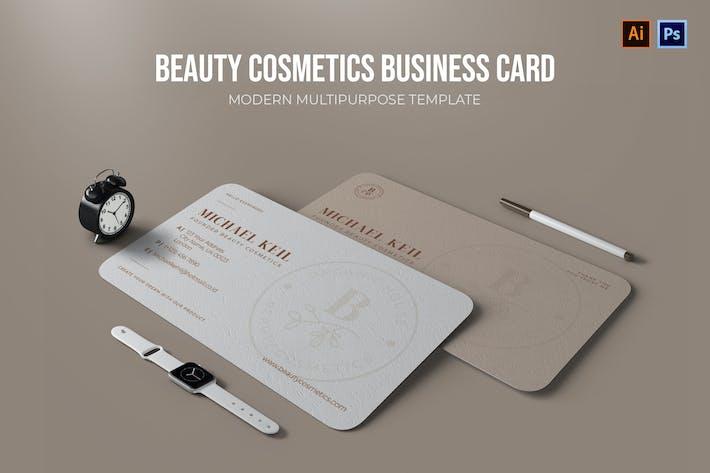 Beauty-Kosmetik - Visitenkarte