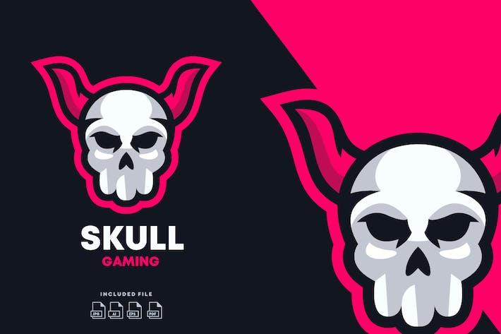 Thumbnail for Skull E-Sport Logo Design Template