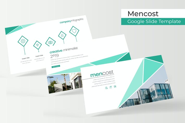 Thumbnail for Mencost - Google Slides Template