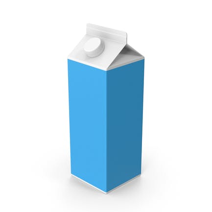 Paquete de leche de cartón