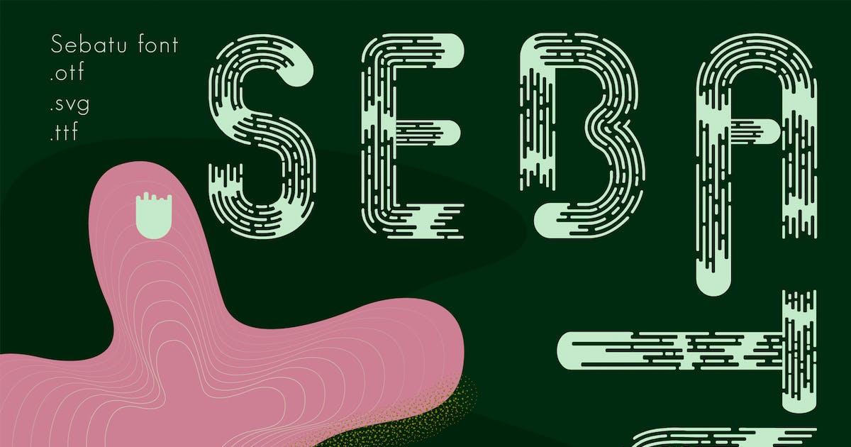 Download Sebatu modern font by a_slowik