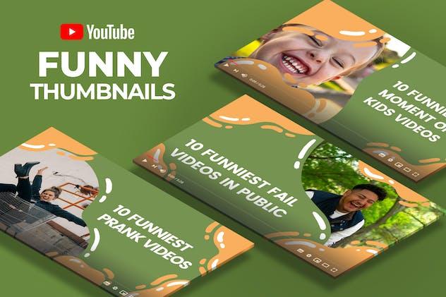 Youtube Thumbnail - Funny Videos