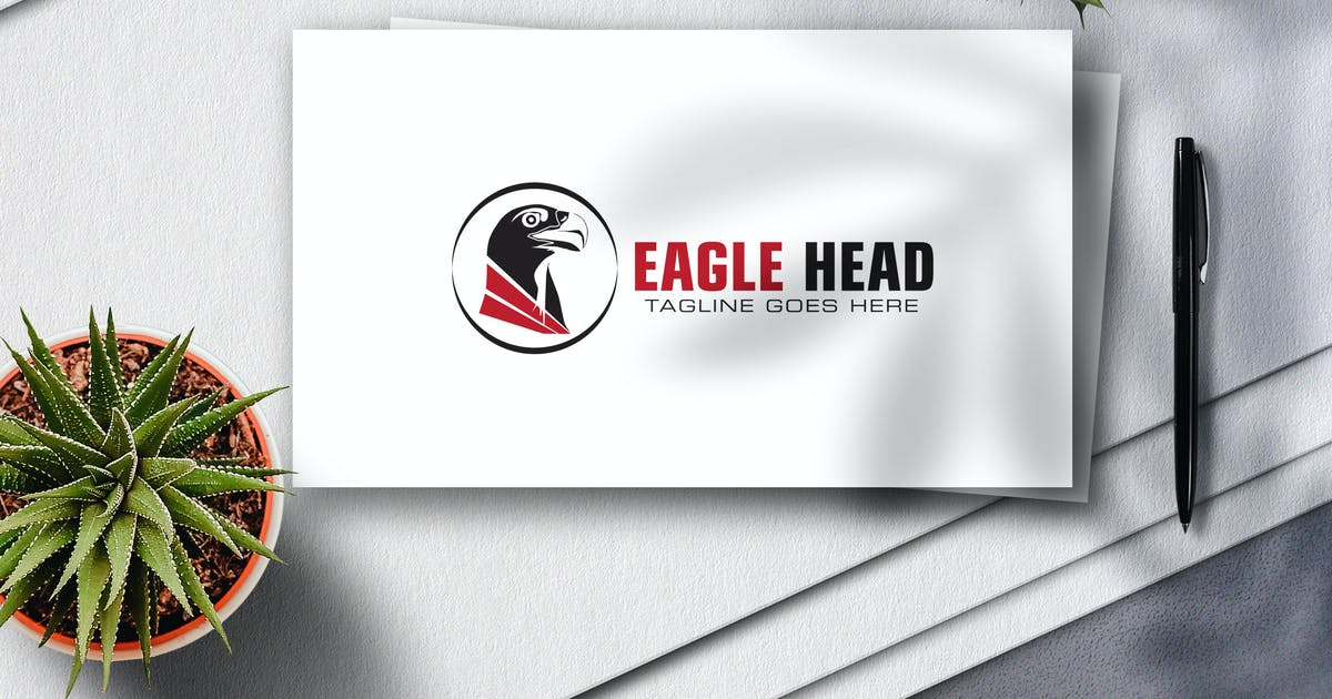 Download Eagle Head Logo by Voltury