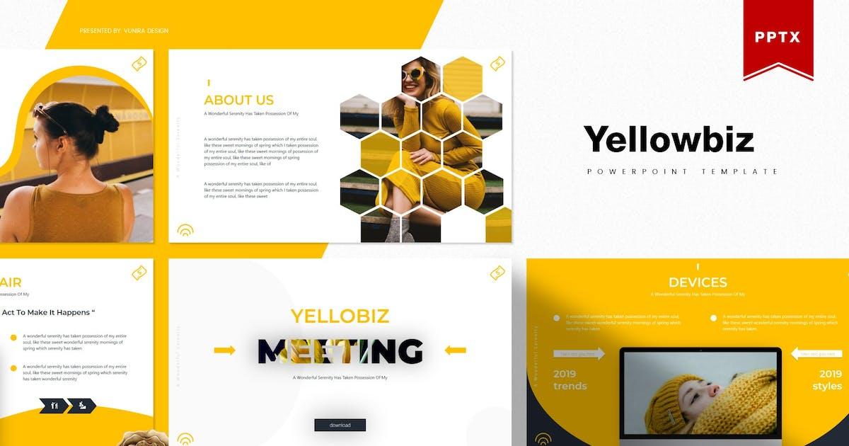 Download Yellowbiz   Powerpoint Template by Vunira