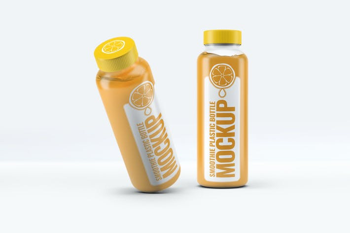 Thumbnail for Smoothie Plastic Bottle Mock-Up